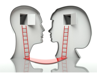 Man-woman-with-ladder-to-heads-small
