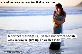 the marriage as the important commitment between the people So, how to reconcile this reality of two people with important individual needs and preferences with the imperative to operate as a team in marriage first, be clear with yourself and your partner about your own needs and wants (and understand the difference between these), as well as, what you are will to contribute to a solution.